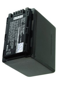 Panasonic HC-V100M battery (3400 mAh, Black)