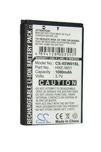 Holux GPSlim236 battery (1000 mAh)
