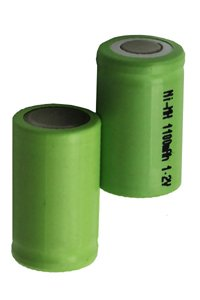 2x A23 battery (1100 mAh, Rechargeable)