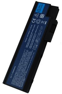 Acer Aspire 7004WSMi battery (4400 mAh, Black)