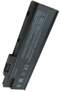 Acer Aspire 1654WLMi battery (4400 mAh, Black)