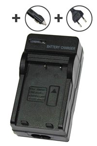 Samsung Digimax U-CA5 AC and Car adapter / charger (4.2V, 0.6A)