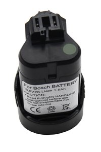 Bosch PSR 10.8 V-LI2 battery (1500 mAh, Black)