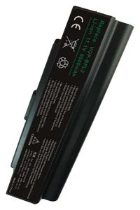 Sony Vaio VGN-N11M/W battery (8800 mAh, Black)