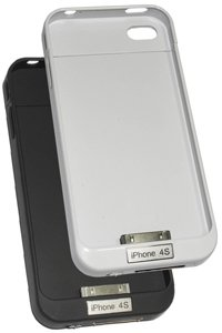 External battery pack (2100 mAh) for Apple iPhone 4S (64GB)