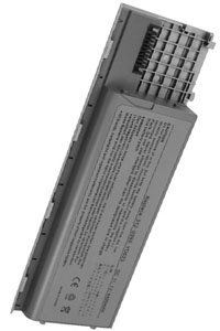 Dell Latitude ATG D630 battery (4400 mAh, Metallic Gray)