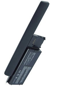 Dell Latitude D630C battery (6600 mAh, Metallic Gray)