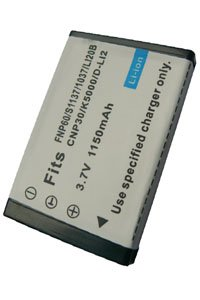 HP Photosmart R607 Gwen battery (1150 mAh, Black)