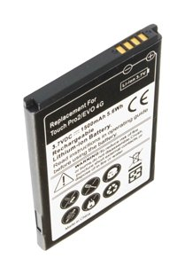 HTC HERO 200 battery (1800 mAh, Black)