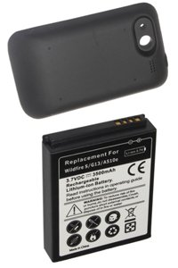 HTC Wildfire S battery (3500 mAh, Black)