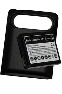 HTC HD7 battery (2200 mAh, Black)