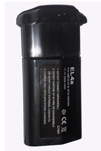 Nikon D300S battery (2200 mAh, Black)