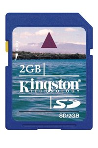 Kingston Secure Digital (SD) Class 4 2 GB memory card