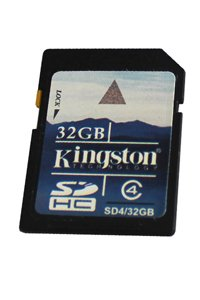 Kingston Secure Digital (SD) Class 4 32 GB memory card