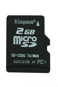 Kingston Micro SD Class 6 2 GB memory card
