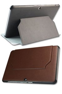Leather Tablet Case for Samsung GT-P5100 Galaxy Tab II 10.1