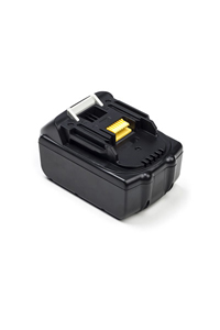 Makita DC18RA battery (4500 mAh, Black)