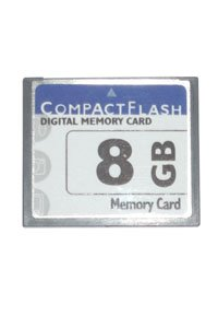 CompactFlash 66x 8 GB memory card