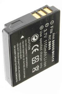 Panasonic Lumix DMC-LX3K battery (1150 mAh, Black)