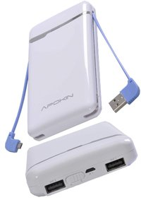 External battery pack (14000 mAh) for Polaroid PoGo (White)
