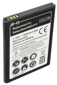 Samsung SC-05D Galaxy Note battery (2600 mAh, Black)