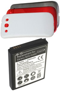 Samsung SCH-R530M Galaxy S III battery (4300 mAh, multiple colors available, NFC)