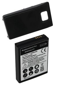 Samsung GT-i9100 Galaxy S II battery (3500 mAh, Black)
