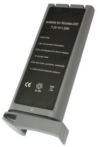 IRobot Scooba 230 battery (1500 mAh, Gray)