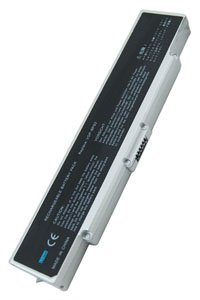 Sony Vaio VGN-CR31S/L battery (4400 mAh, Silver)