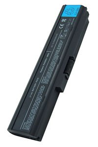 Toshiba Satellite Pro U300-13P battery (4400 mAh, Black)