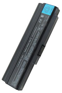 Toshiba Satellite U300-111 battery (6600 mAh, Black)