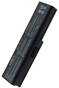 Toshiba Satellite Pro U300-13O battery (4400 mAh, Black)