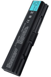 Toshiba Satellite Pro A210-1C7 battery (4400 mAh, Black)
