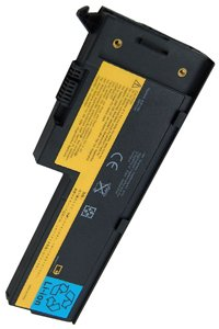 Lenovo ThinkPad X61 7678 battery (2400 mAh, Black)